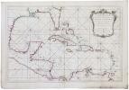 [GOLFE du MEXIQUE] Carte réduite du golphe du Mexique et des isles de l'Amérique.. BELLIN (Jacques-Nicolas).