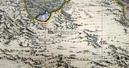 [THÉBAÏDE/ASCÉTISME CHRÉTIEN] Les déserts d'Égypte, de Thébaïde, d'Arabie, de Sirie, &c où sont exactement marqués les lieuz habitez par les Saincts ...