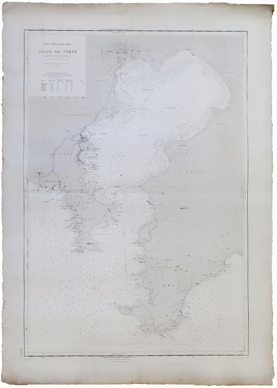 [TOKYO] Japon - Côte sud de Nipon. Golfe de Tokyo (ancien.t de Yédo).. SERVICE HYDROGRAPHIQUE DE LA MARINE.