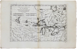 [GRANDS LACS] Partie occidentale du Canada, contenant les cinq Grands Lacs, avec les pays circonvoisins.. BONNE (Rigobert).