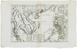 Les Isles Philippines, celle de Formose, le sud de la Chine, les royaumes de Tunkin, de Cochinchine, de Camboge, de Siam, de Laos ; avec partie de ...