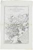 Carte de l'empire de la Chine, de la Tartarie chinoise, et du royaume de Corée ; avec les isles du Japon.. BONNE (Rigobert).