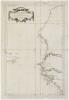 [SAHARA OCCIDENTAL/SIERRA LEONE] Carte réduite des costes occidentales d'Afrique. Seconde feuille depuis le cap Bojador jusqu'à la rivière de Sierra ...