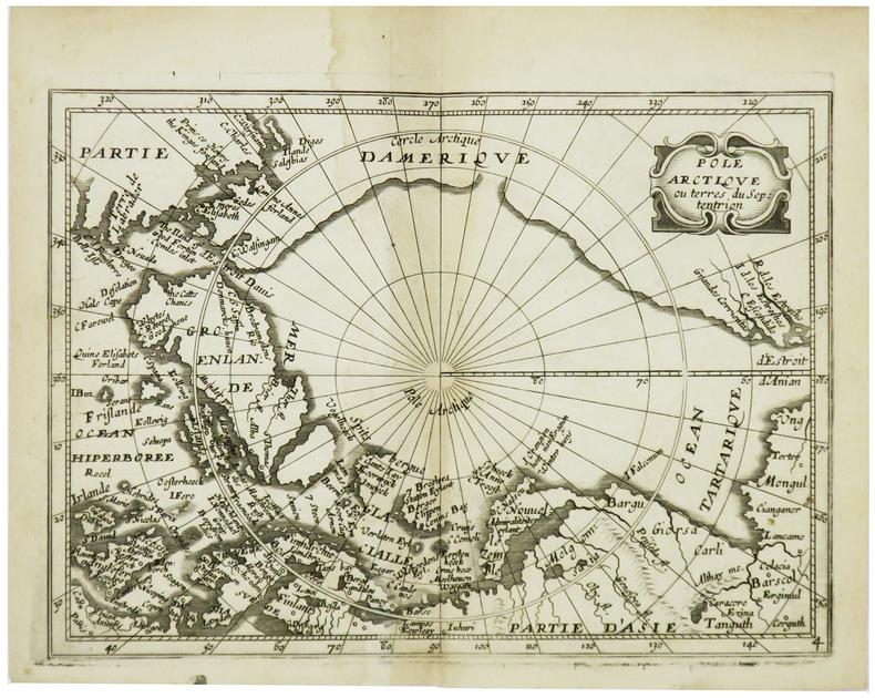[PÔLE NORD] Pôle Arctique ou terres du septentrion.. BOISSEVIN (Louis).