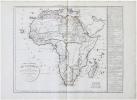 Carte générale de l'Afrique divisée en ses principaux états.. DELAMARCHE (Félix).