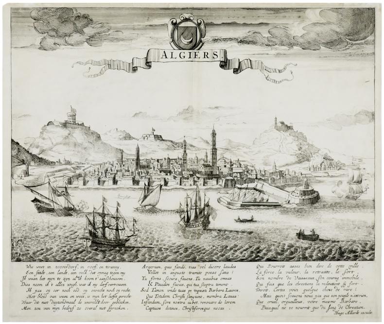 [ALGER] Algiers.. ALLARD (Hugo ou Huych).