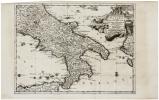 [NAPLES] Le royaume de Naples.. AA (Pieter van der).