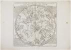 Planisphère céleste septentrional - Planisphère céleste méridional.. FER (Nicolas de) & LA HIRE (Philippe de).