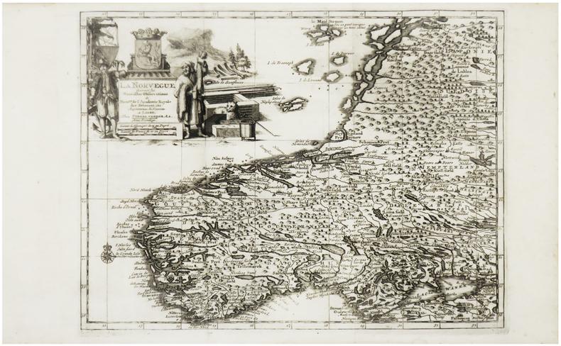 [NORVÈGE] La Norvegue.. AA (Pieter van der).