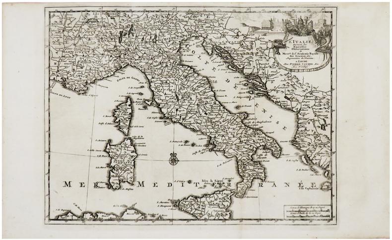 L'Italie.. AA (Pieter van der).