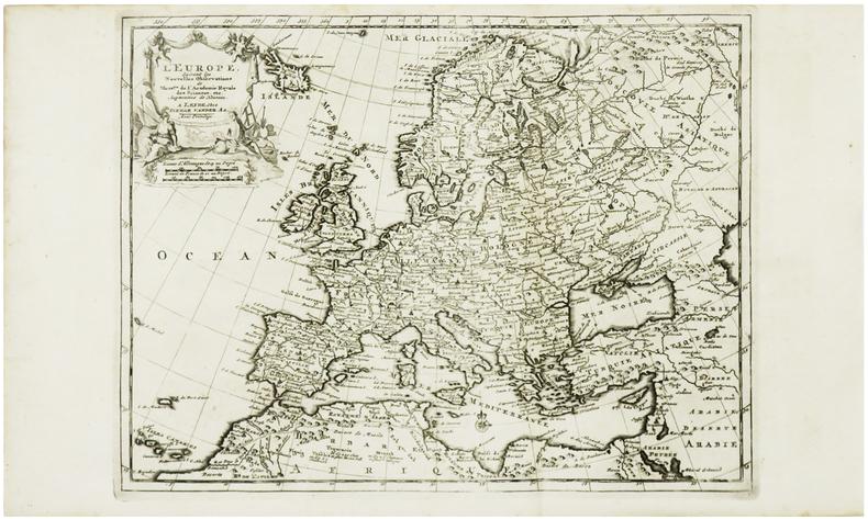 L'Europe.. AA (Pieter van der).