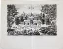 [VINCENNES] Veüe et perspective en général du château royal de Vincenes, du côté du parc à une lieüe de Paris.. CHÉREAU (Jacques).