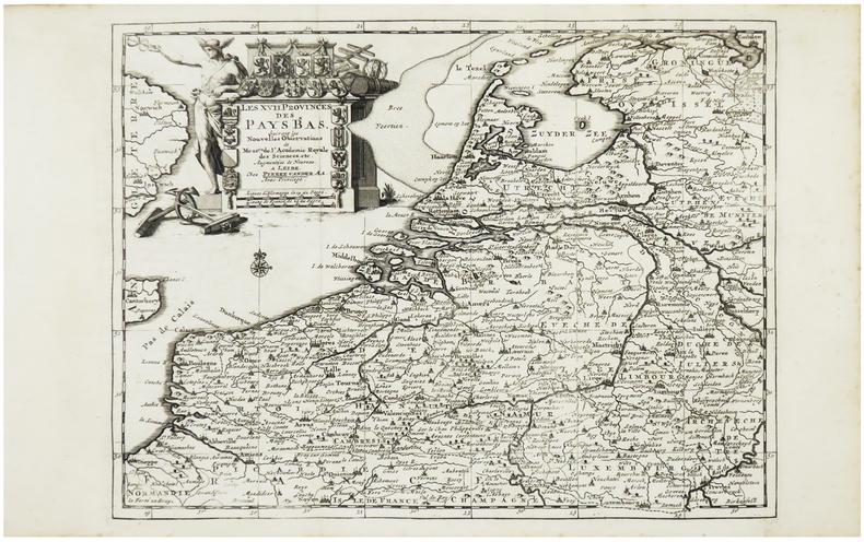 [PAYS-BAS] Les XVII provinces des Pays Bas.. AA (Pieter van der).