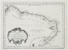 [BRÉSIL] Carte du Brésil, prem. partie. Depuis la rivière des Amazones jusqu'à la Baye de Tous les Saints.. BELLIN (Jacques-Nicolas).