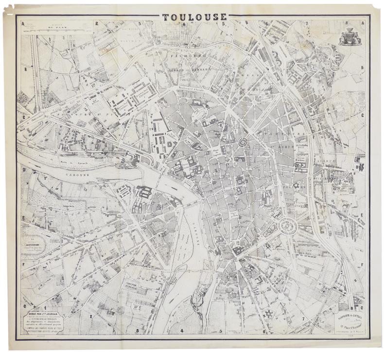 [TOULOUSE] Toulouse.. JOURDAN (Justin).