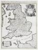 Le Royaume d'Angleterre distingué en ses provinces.. SANSON d'ABBEVILLE (Nicolas) & JAILLOT (Alexis-Hubert).