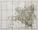 [FORÊT de FONTAINEBLEAU] Carte topographique de la forêt & des environs de Fontainebleau.. DENECOURT (Claude-François).