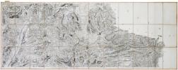 [DIGNE-les-BAINS/VENCE] Cartes de Cassini. Feuilles n°145/153 et n°147/168.. CASSINI de THURY (César-François).