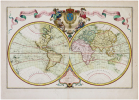Mappemonde à l'usage du roy.. L'ISLE (Guillaume de).