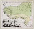 [GUINÉE] Guinea propria, nec non Nigritiæ vel Terræ Nigrorum maxima pars, geographis hodiernis dicta utraque Æthiopia inferior - La Guinée de même ...
