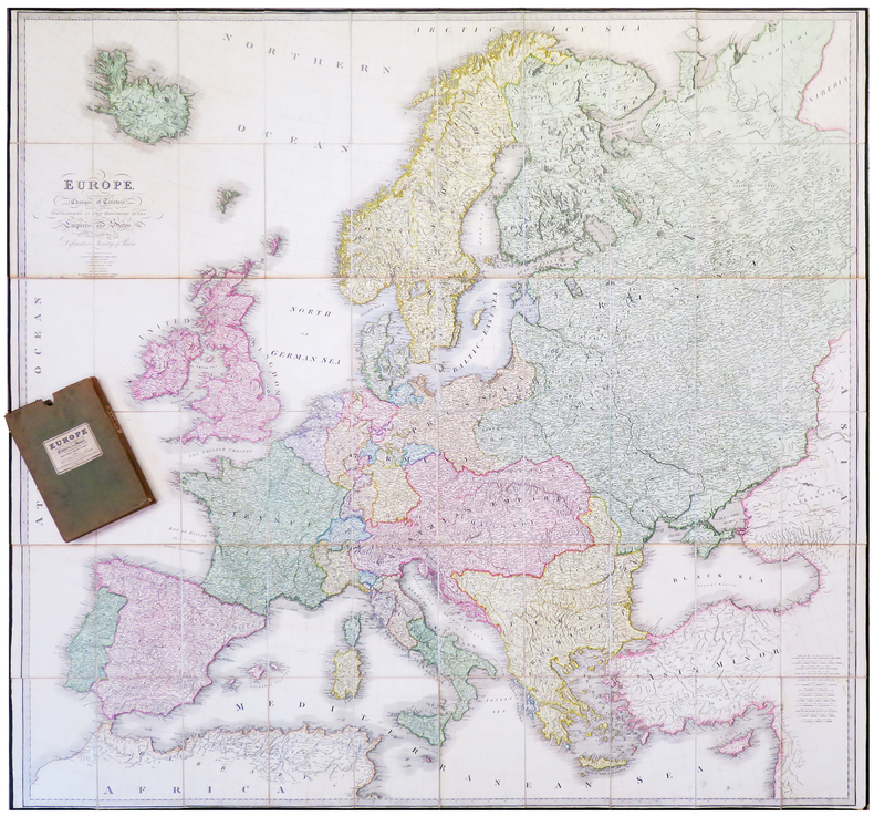Europe, describing all the changes of territory, together with their deviations in the boundary lines of its several empires and states agreed to and ...
