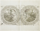 A Map of the world on a new projection with a delineation of the various parts and phænomena of the solar system, to facilitate the principles and ...