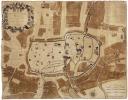 [TROYES] Plan de la ville de Troyes capitalle de Champagne.. JOUVIN de ROCHEFORT (Albert).