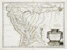 [PÉROU] Le Pérou et le cours de la rivière Amazone, depuis ses sources jusques à la mer.. SANSON d'ABBEVILLE (Nicolas).