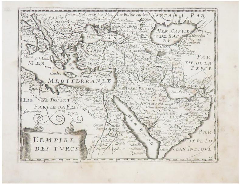 L'Empire des Turcs.. JOLLAIN (Gérard).