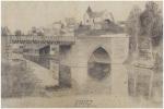 Chécy. Vue du Pont du Canal. . ROUSSEAU (R.).