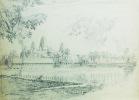 [CAMBODGE] Vue panoramique d'Angkor Vat.. BONNIGAL (Paul).
