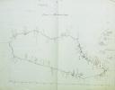 [Cartes manuscrites de Madagascar et de Zanzibar].. [ANONYME].