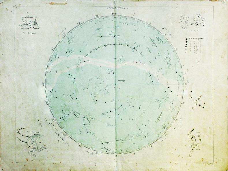 Planisphère. . WALFFLÉ (Félix).