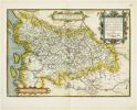 [POITOU] Poictou. Pictonum vicinarumque regionum fidiss descriptio.. ORTELIUS (Abraham).