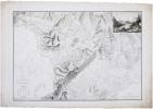 [MONT-BLANC] Carte physique et minéralogique des montagnes et vallées qui avoisinent le Mont-Blanc.. RAYMOND (Jean-Baptiste).
