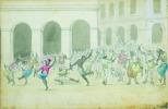 La danse des nègres (Alger).. ALGERIE.