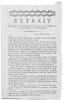 Extrait des registres des délibérations des citoyens de la paroisse de la Croix-des-Bouquets, isle Saint-Domingue..
