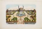 Exposition Universelle de 1878. Trocadéro. Welt-Ausstellung von 1878.. WENTZEL (Frédéric Charles).