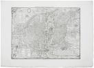 La ville, cité, université, & faux-bourgs de Paris.. BELLEFOREST (François de) & ATLAS des ANCIENS PLANS de PARIS.