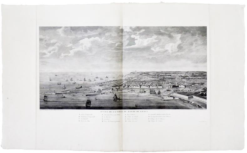 [LE HAVRE] I.RE Vue de la ville du Havre de Grâce.. MARTINET Fils.