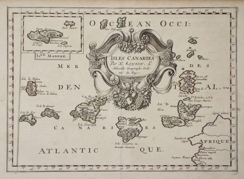 Isles Canaries.. SANSON d'ABBEVILLE (Nicolas).