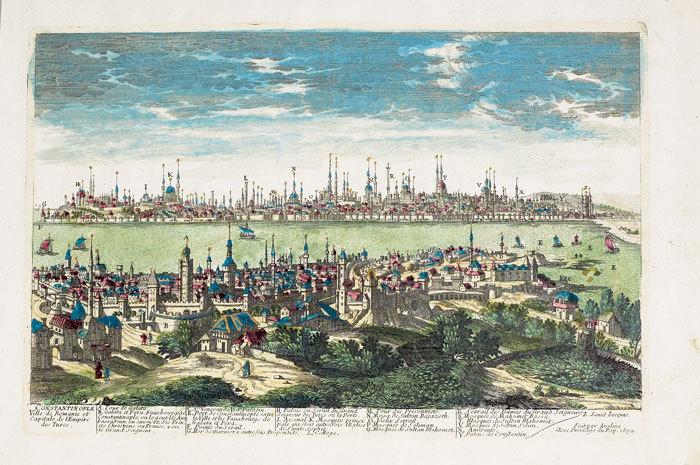 Constantinople ville de Romanie et capitale de l'empire des Turcs.. AVELINE (Pierre);