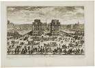 [Le Pont Neuf et la place Daufine].. PERELLE (Gabriel).