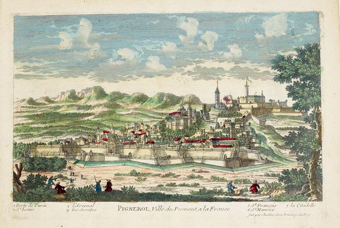 Pignerol, ville du Piémont, à la France.. AVELINE (Pierre);