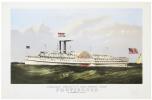 Narragansett steamship Co.'s world renowned steamer Porovidence. B.M. Simmons, Commander.. ENDICOTT & CO.