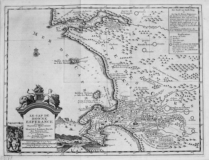 Le Cap de Bonne Espérance.. AA (Pieter van der);