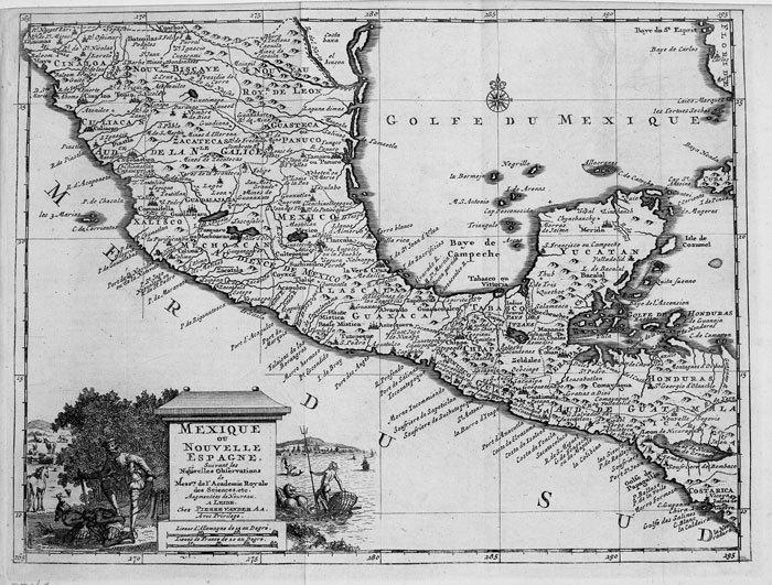 Mexique ou Nouvelle Espagne.. AA (Pieter van der);