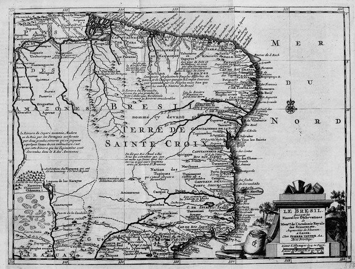 Le Brésil.. AA (Pieter van der);