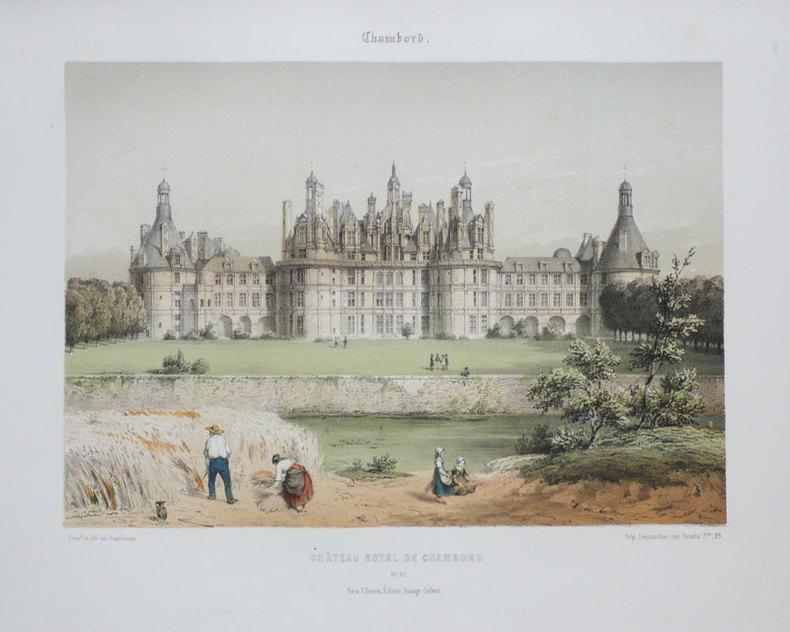 Chambord. Château royal de Chambord.. ASSELINEAU (Léon-Auguste);