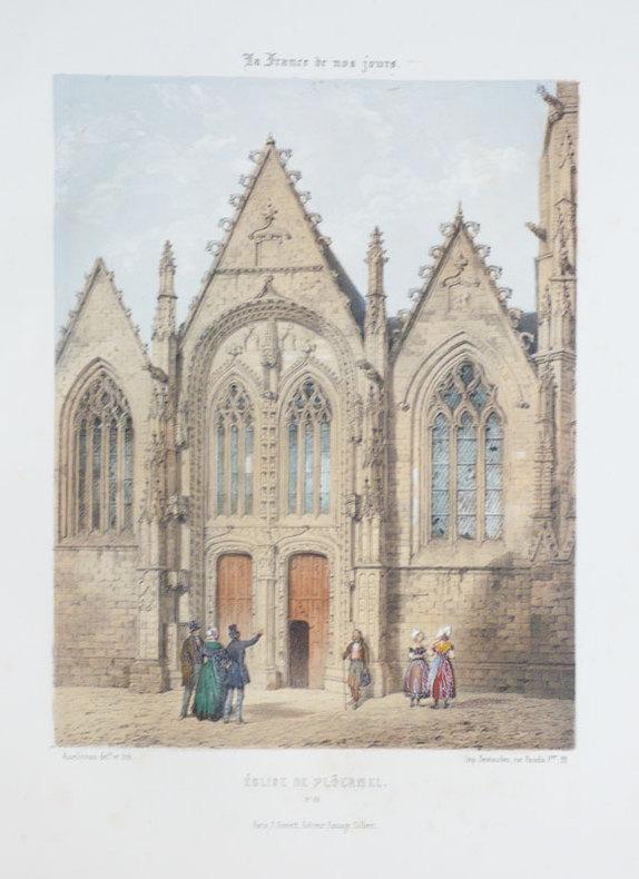 [PLOERMEL] Eglise de Plöermel. . ASSELINEAU (Léon-Auguste);